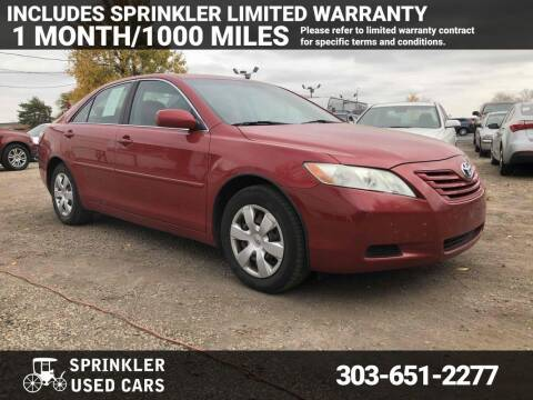 2009 Toyota Camry for sale at Sprinkler Used Cars in Longmont CO