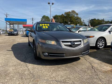 2008 Acura TL for sale at Port City Auto Sales in Baton Rouge LA
