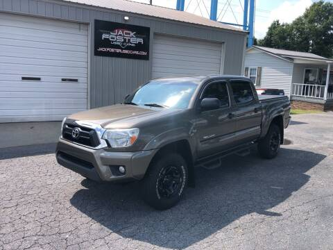 2013 Toyota Tacoma for sale at Jack Foster Used Cars LLC in Honea Path SC