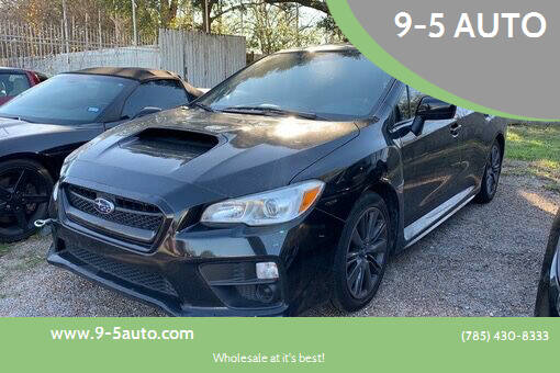 2016 Subaru WRX for sale at 9-5 AUTO in Topeka KS