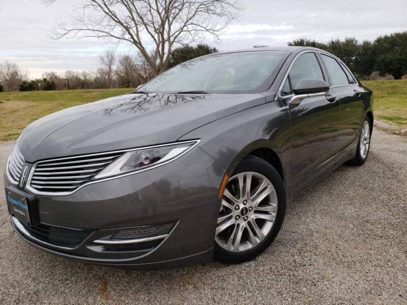 2016 Lincoln MKZ for sale at Laguna Niguel in Rosenberg TX