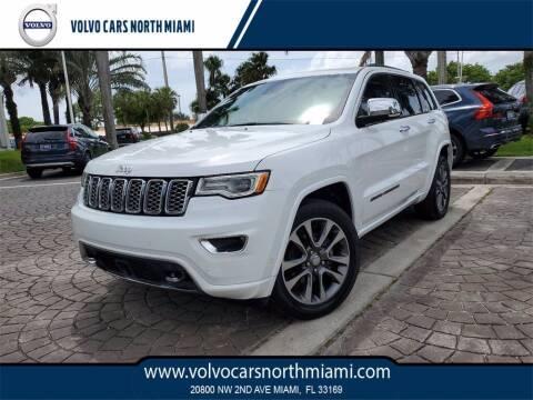 2018 Jeep Grand Cherokee for sale at Volvo Cars North Miami in Miami FL
