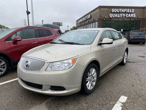 2012 Buick LaCrosse for sale at SOUTHFIELD QUALITY CARS in Detroit MI