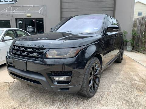 2014 Land Rover Range Rover Sport for sale at PARK PLACE AUTO SALES in Houston TX