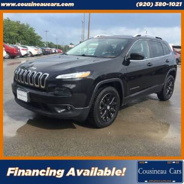 2016 Jeep Cherokee for sale at CousineauCars.com in Appleton WI