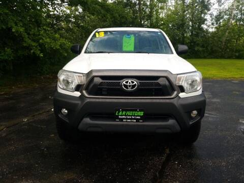 2013 Toyota Tacoma for sale at L & R Motors in Greene ME