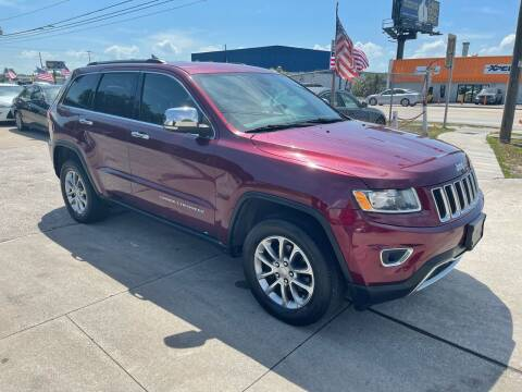 2016 Jeep Grand Cherokee for sale at P J Auto Trading Inc in Orlando FL
