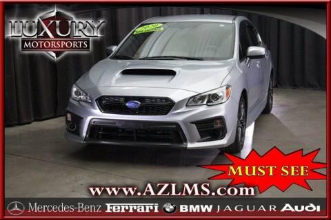 2020 Subaru WRX for sale at Luxury Motorsports in Phoenix AZ