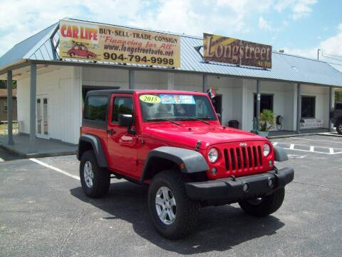 2015 Jeep Wrangler for sale at LONGSTREET AUTO in Saint Augustine FL