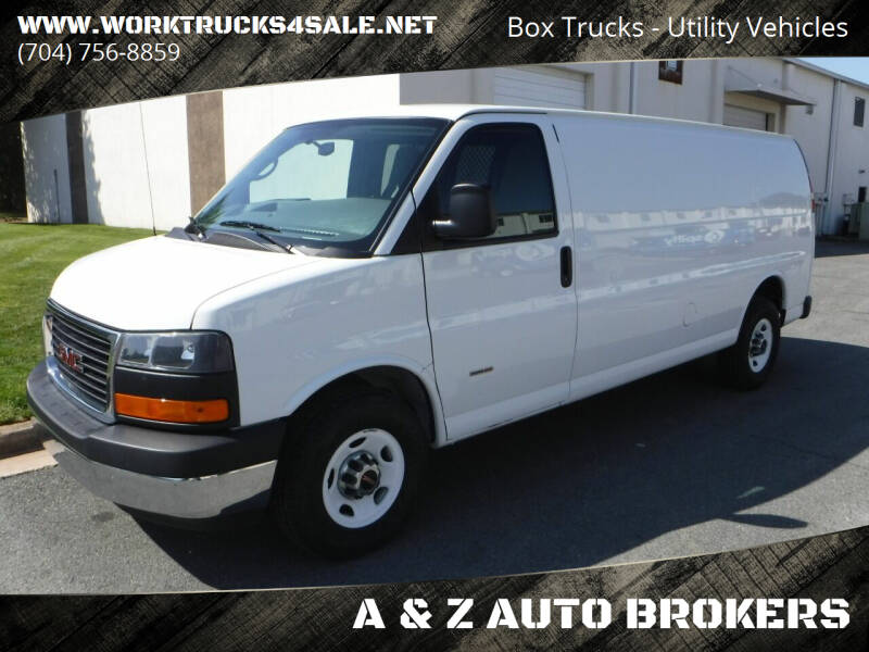 2014 GMC Savana Cargo for sale at A & Z AUTO BROKERS in Charlotte NC