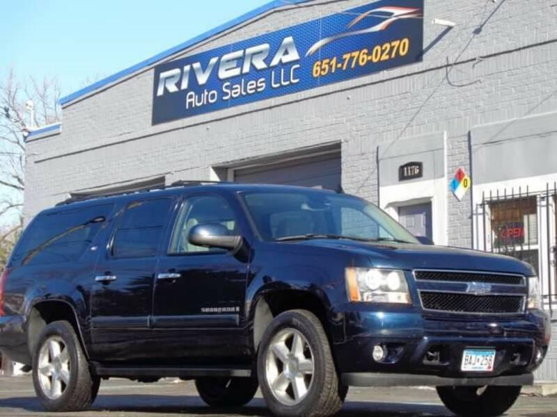 2007 Chevrolet Suburban for sale at Rivera Auto Sales LLC in Saint Paul MN