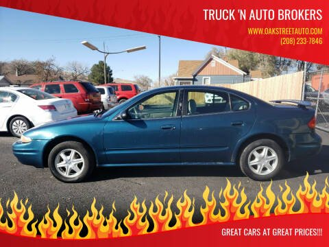 2003 Oldsmobile Alero for sale at Truck 'N Auto Brokers in Pocatello ID