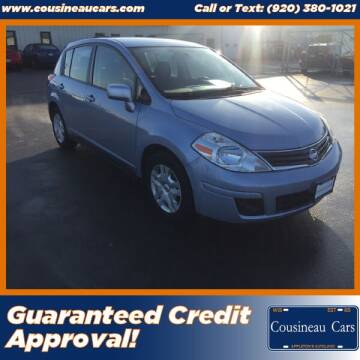 2011 Nissan Versa for sale at CousineauCars.com - Guaranteed Credit Approval in Appleton WI