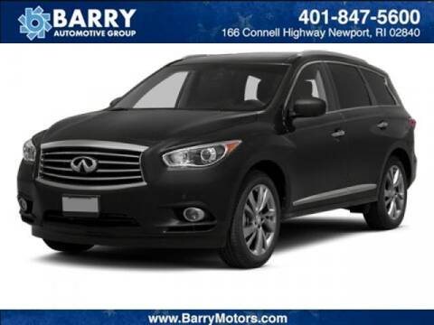2013 Infiniti JX35 for sale at BARRYS Auto Group Inc in Newport RI