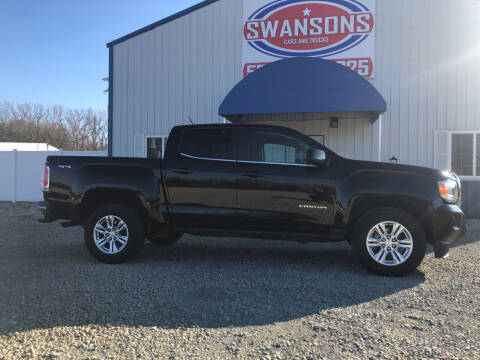 2019 GMC Canyon for sale at Swanson's Cars and Trucks in Warsaw IN