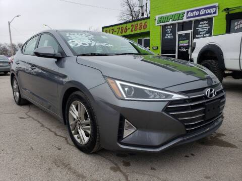 2019 Hyundai Elantra for sale at Empire Auto Group in Indianapolis IN
