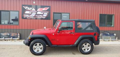 2014 Jeep Wrangler for sale at SS Auto Sales in Brookings SD