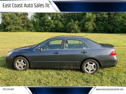 2006 Honda Accord for sale at East Coast Auto Sales llc in Virginia Beach VA