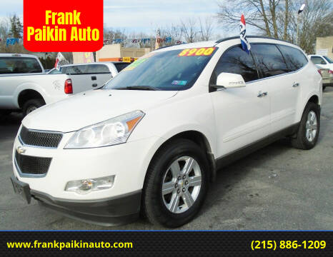 2012 Chevrolet Traverse for sale at Frank Paikin Auto in Glenside PA