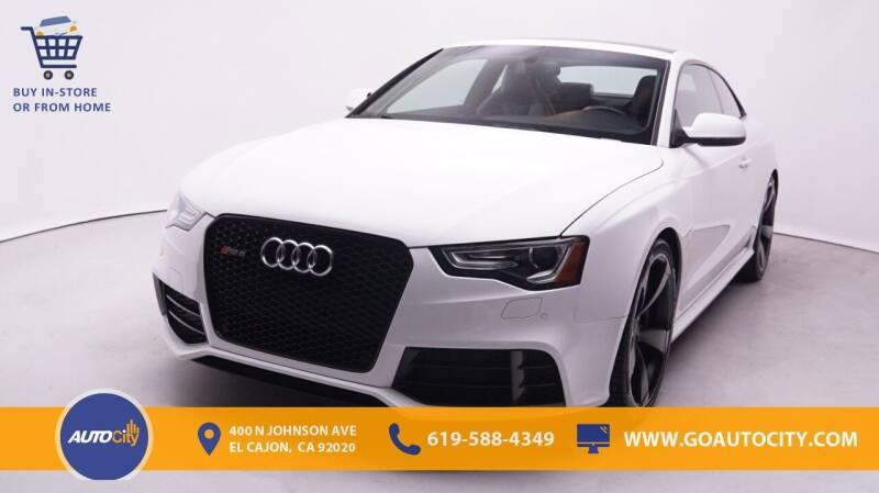 2015 Audi RS 5 for sale in El Cajon, CA