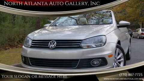 2012 Volkswagen Eos for sale at North Atlanta Auto Gallery, Inc in Alpharetta GA