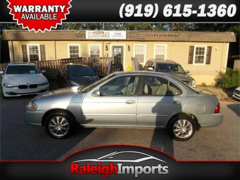 2004 Nissan Sentra for sale at Raleigh Imports in Raleigh NC