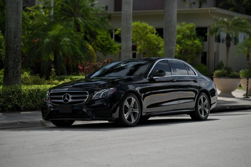 2018 Mercedes-Benz E-Class for sale at EURO STABLE in Miami FL