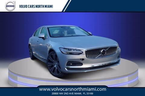 2021 Volvo S90 for sale at Volvo Cars North Miami in Miami FL