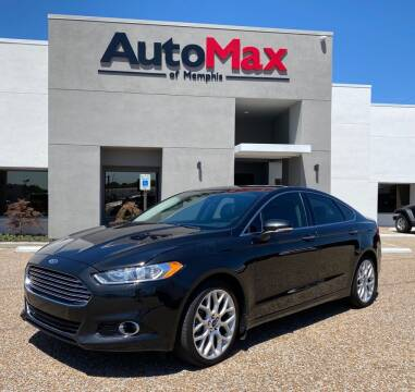 2014 Ford Fusion for sale at AutoMax of Memphis - V Brothers in Memphis TN