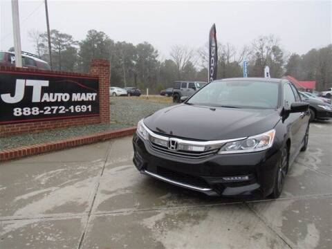 2016 Honda Accord for sale at J T Auto Group in Sanford NC
