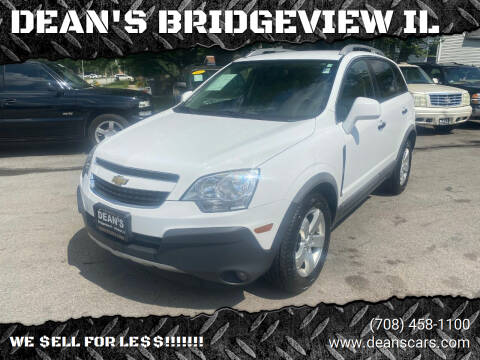 2012 Chevrolet Captiva Sport for sale at DEANSCARS.COM in Bridgeview IL
