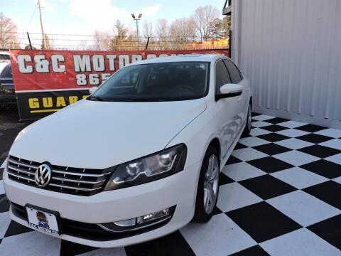 2014 Volkswagen Passat for sale at C & C Motor Co. in Knoxville TN