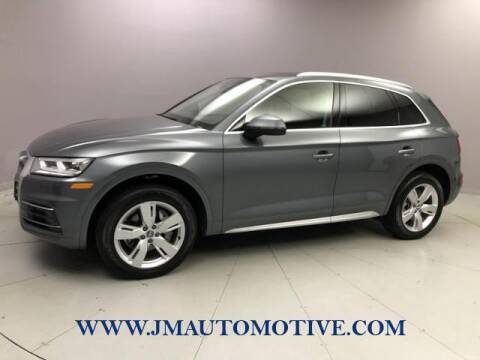 2018 Audi Q5 for sale at J & M Automotive in Naugatuck CT