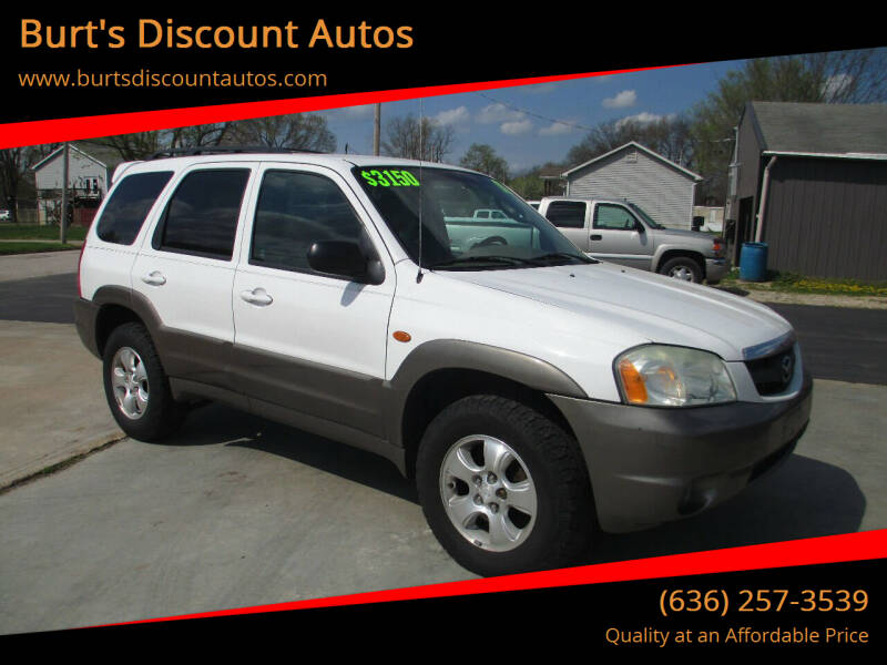 2002 Mazda Tribute for sale at Burt's Discount Autos in Pacific MO