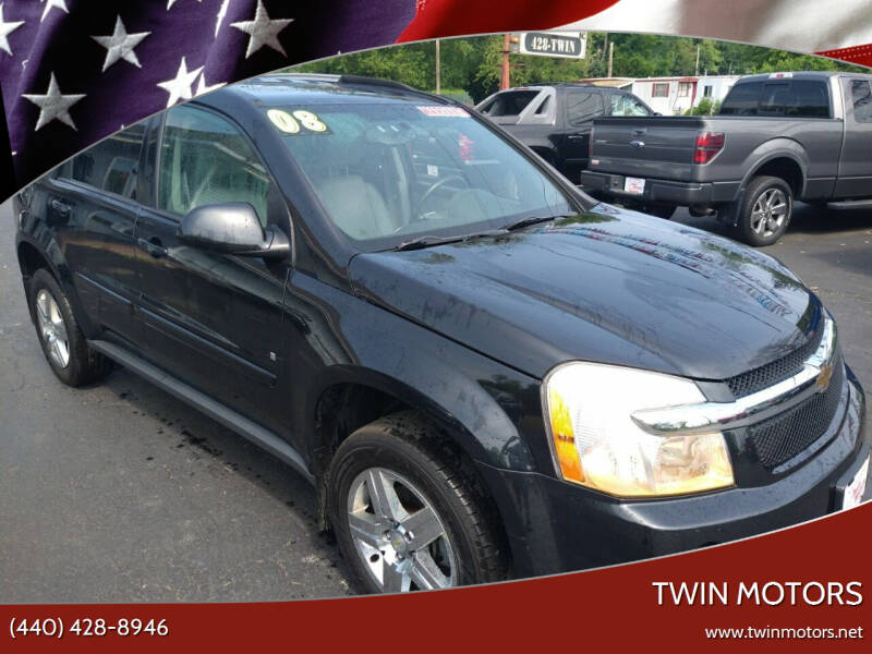 2008 Chevrolet Equinox for sale at TWIN MOTORS in Madison OH