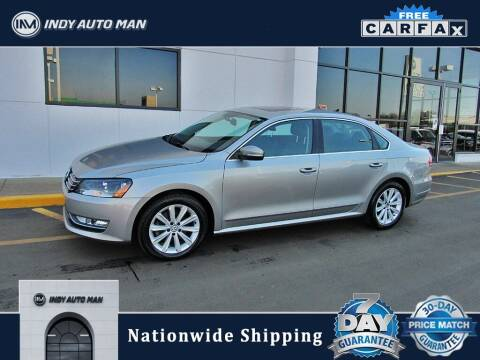 2013 Volkswagen Passat for sale at INDY AUTO MAN in Indianapolis IN