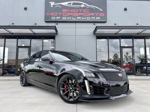 2017 Cadillac CTS-V for sale at Exotic Motorsports of Oklahoma in Edmond OK