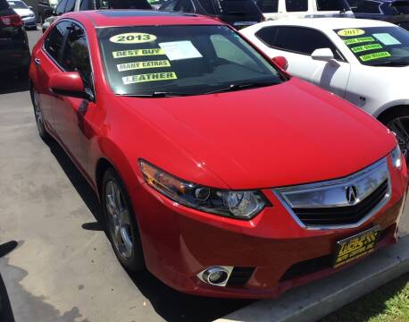2013 Acura TSX for sale at Lucas Auto Center in South Gate CA