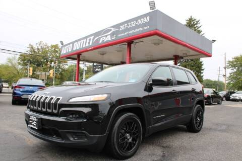 2015 Jeep Cherokee for sale at Deals N Wheels 306 in Burlington NJ