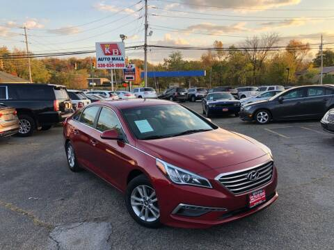 2015 Hyundai Sonata for sale at KB Auto Mall LLC in Akron OH