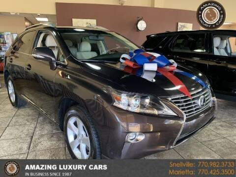 2015 Lexus RX 350 for sale at Amazing Luxury Cars in Snellville GA