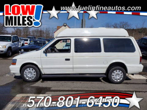 1994 Plymouth Grand Voyager for sale at FUELIN FINE AUTO SALES INC in Saylorsburg PA