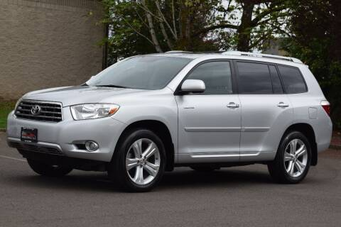 2008 Toyota Highlander for sale at Beaverton Auto Wholesale LLC in Aloha OR