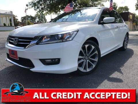 2015 Honda Accord for sale at World Class Auto Exchange in Lansdowne PA