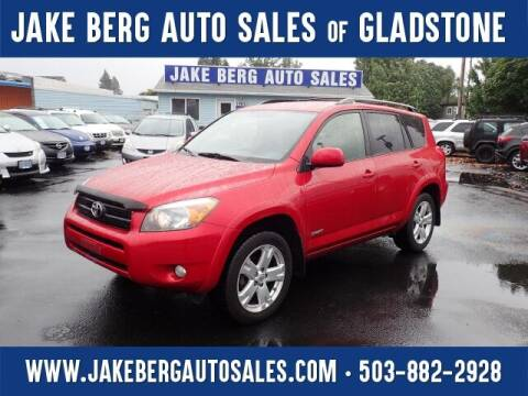 2008 Toyota RAV4 for sale at Jake Berg Auto Sales in Gladstone OR