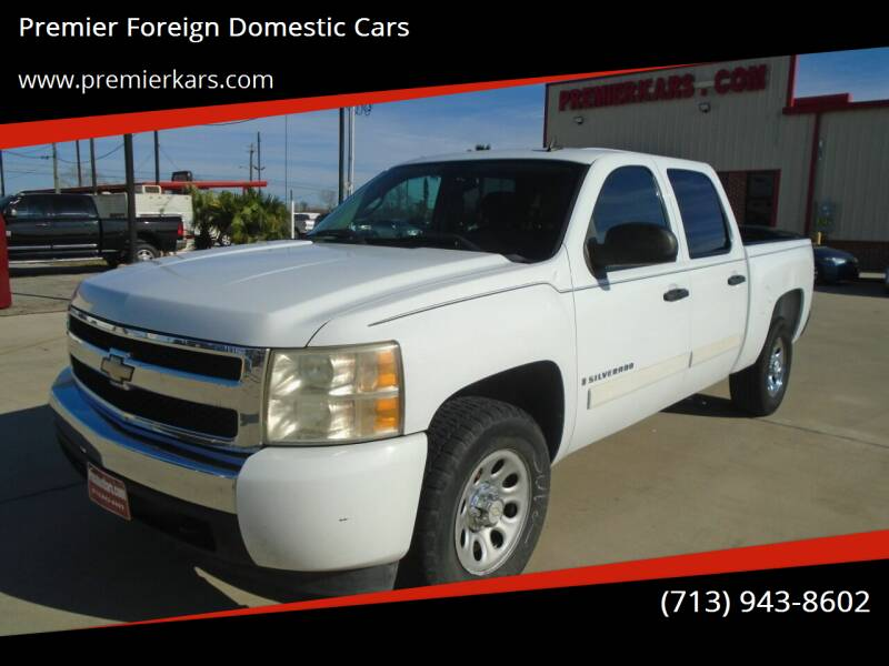 2008 Chevrolet Silverado 1500 for sale at Premier Foreign Domestic Cars in Houston TX
