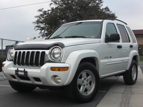 2002 Jeep Liberty for sale at J'S MOTORS in San Diego CA