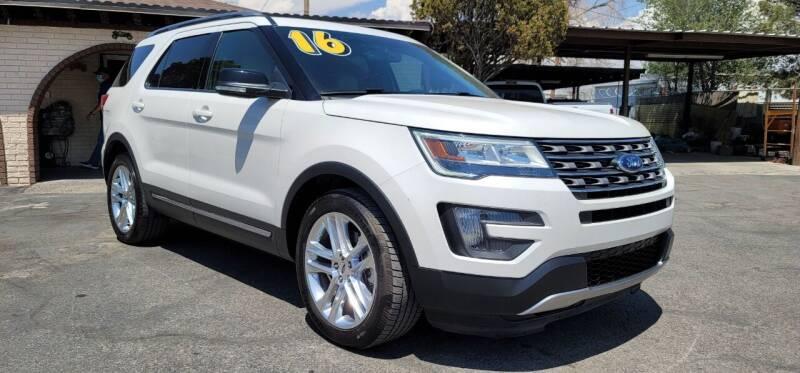 2016 Ford Explorer for sale at FRANCIA MOTORS in El Paso TX