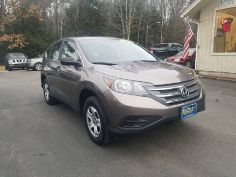 2012 Honda CR-V for sale at Fairway Auto Sales in Rochester NH