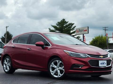 2017 Chevrolet Cruze for sale at BuyRight Auto in Greensburg IN